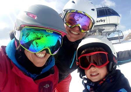 Family ski holidays in Peisey-Vallandry