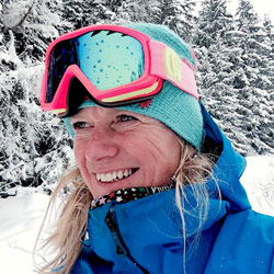 Ski Instructor Piesey-Vallandry - Sian Ski