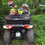 Summer activities in the French Alps - Quad Biking