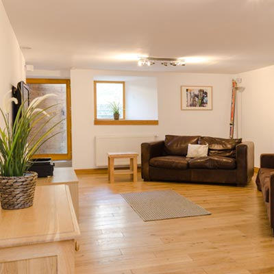 Chalet flat accommodation in Peisey