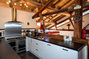 Chalet Peisey village, catered kitchen