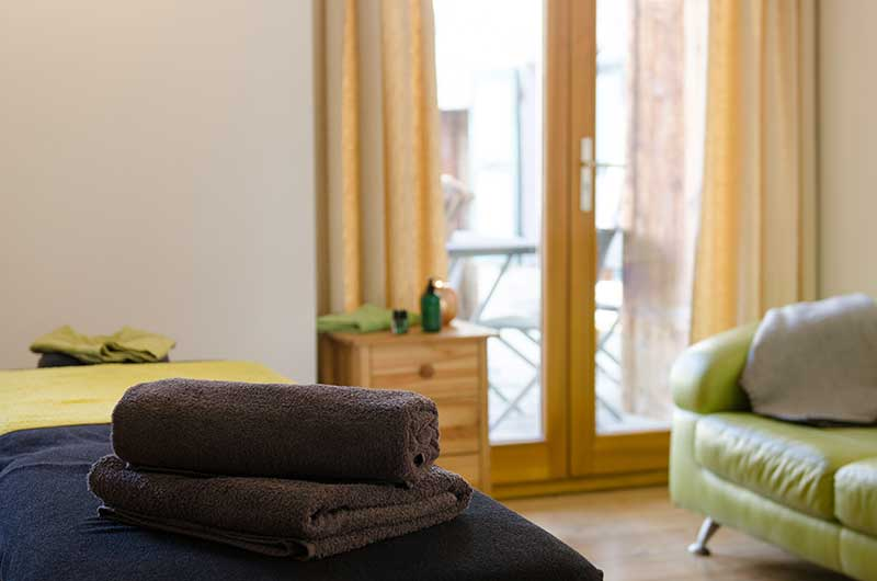 Massage in Chalet Peisey-Vallandry