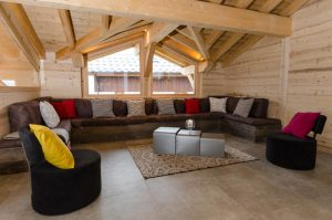 Catered chalet Peisey-Vallandry with cosy family room