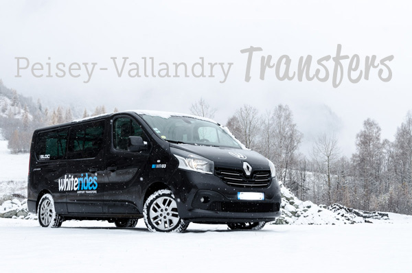 Peisey Vallandry Transfers with Whiterides