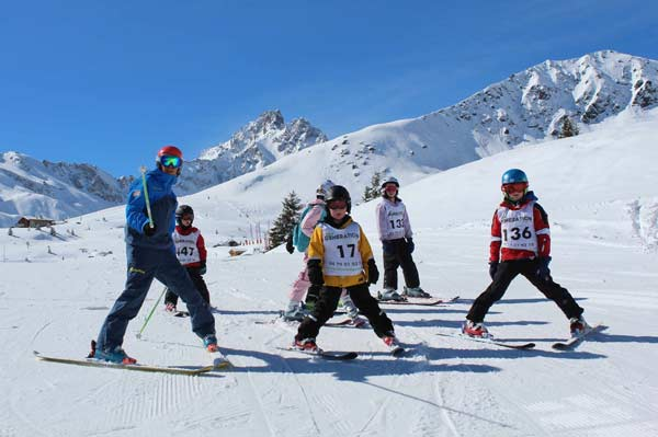 Childrens Ski Lessons Peisey-Vallandry