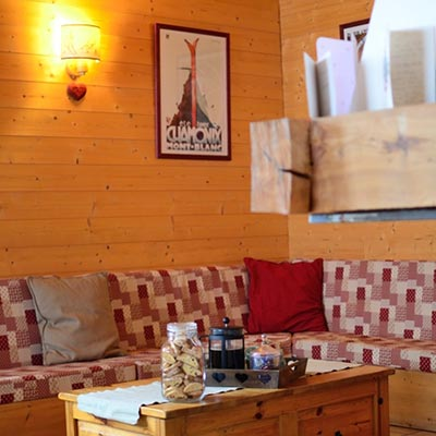 Peisey-Vallandry Chalet with cosy sitting area width=