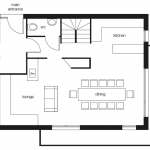Chalet Mélèze Sud Ground Floor Plan