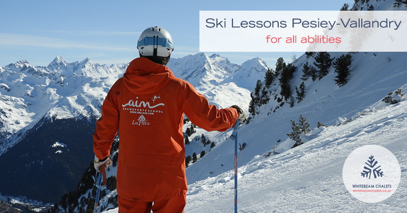 Ski Lessons Peisey-Vallandry with AIM Snowsports