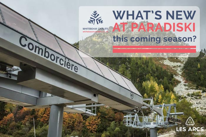 What's new at Paradiski this coming ski season?